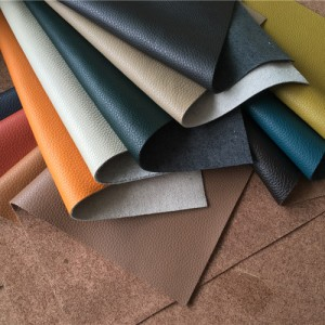 A new product instead of traditional leather hides