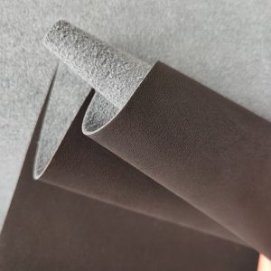 recyclable nubuck leather material