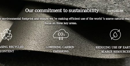 sustainable recycled leather