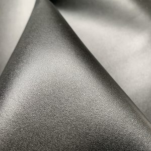 black recyclable leather